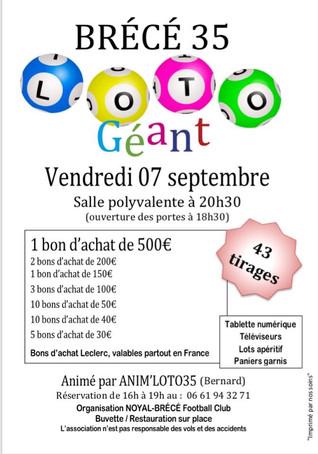 Loto NBFC 07 Septembre