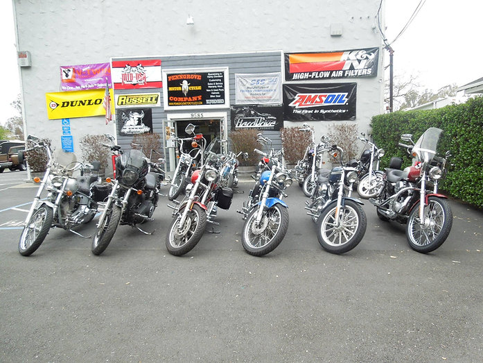 Harley Davidson Motorcycle Repair shop