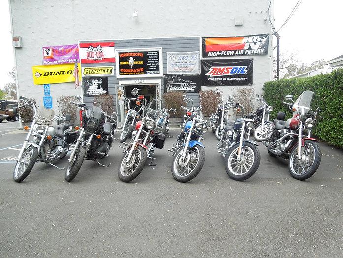 Harley Davidson Motorcycle Repair shop