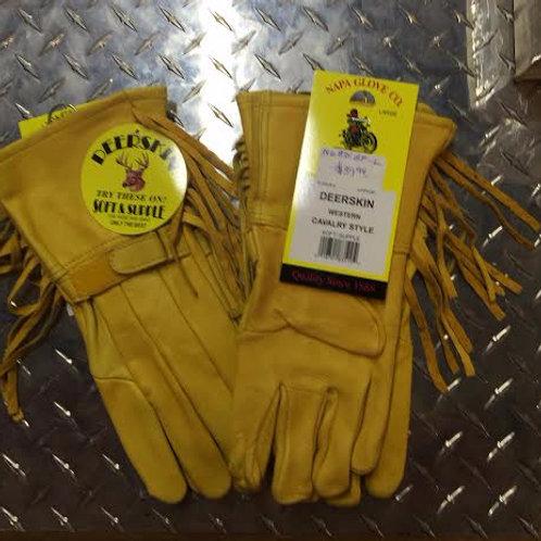 Gold Cavalry Gloves