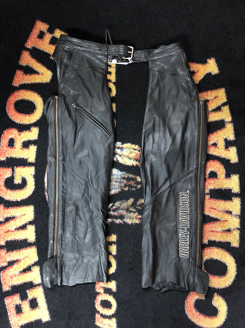 USED Woman's Harley Davidson chaps Size XL