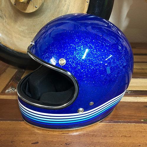 Spectrum Graphic Blue Helmet XS