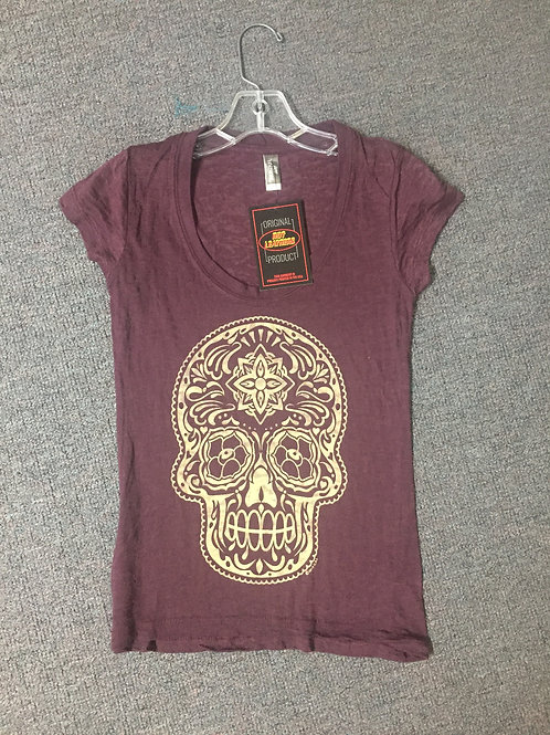Women's Skull Short Sleeve