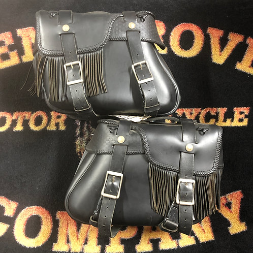 Harley Softail Leather Saddlebags