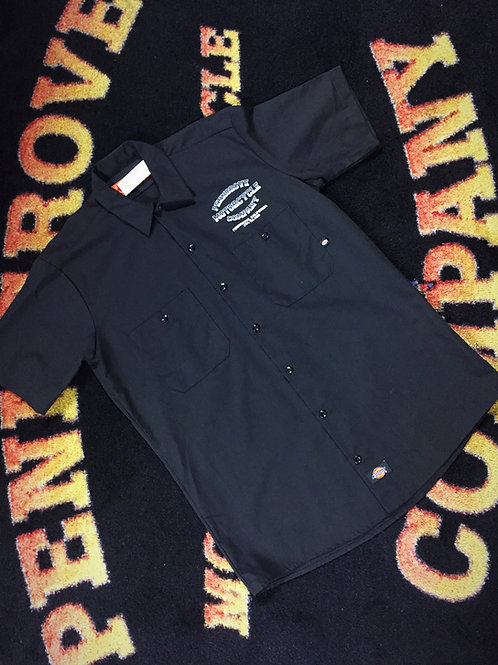 Shortsleeve Black Workshirt