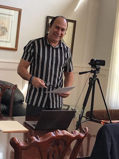 Richard David at Office