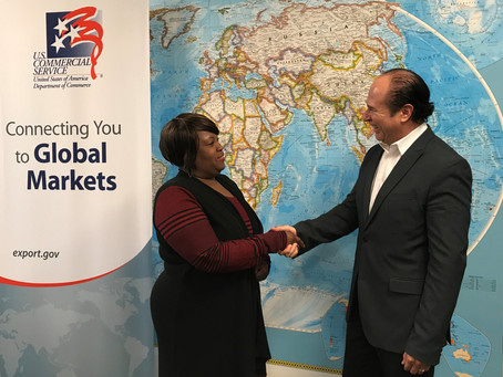 AFDIC Visits U.S. Trade Office