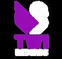 TW1 Records Logo Purple White.png