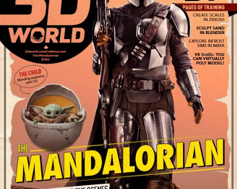 TW1's A&R will be featuring in 3D World Magazine