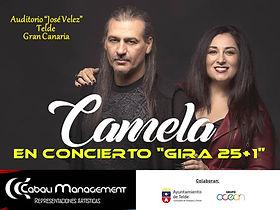 CONCIERTO CAMELA GIRA 25+1