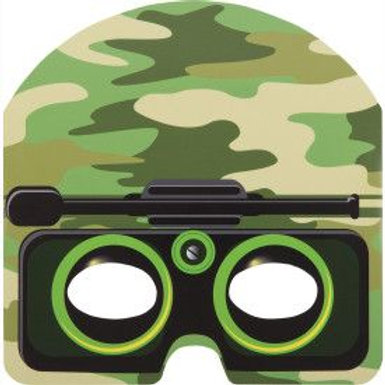 Mask Party Camo 8Ct