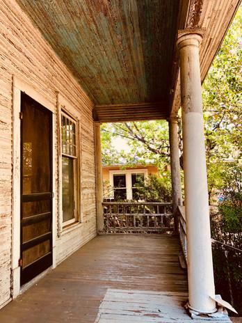 1013 Blanco Street - Front Porch