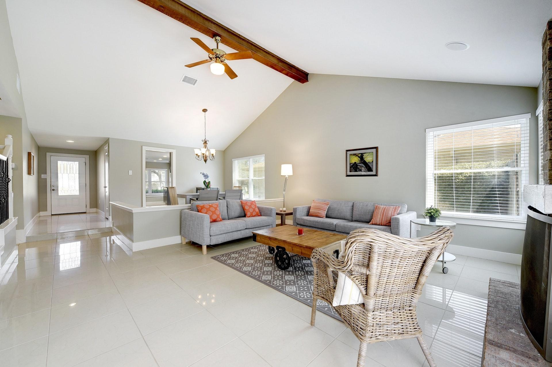 4601 Oak Creek Drive - Living Room