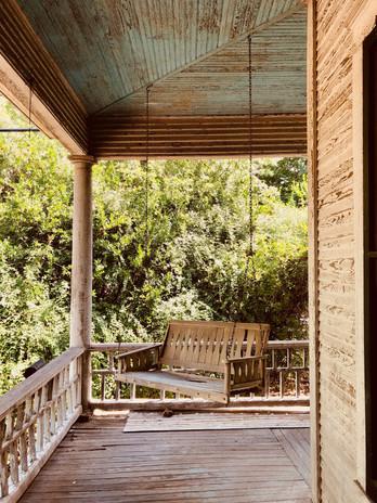 1013 Blanco Street - Front Porch Swing