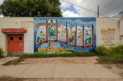 South 1st - Austin Mural
