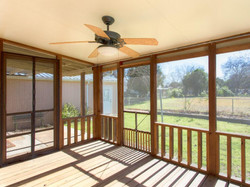 1207 Casey Screened Back Porch