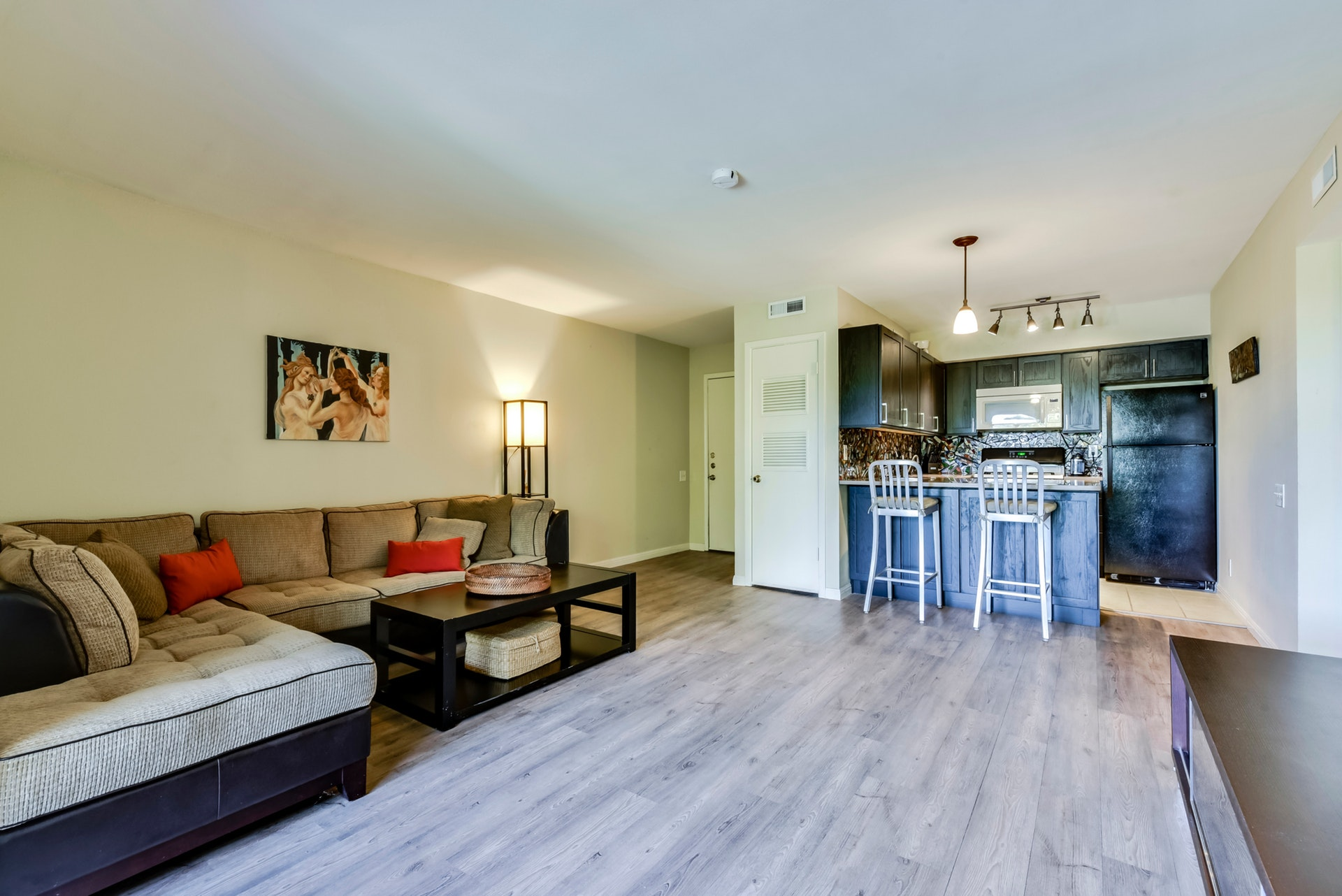 620 S 1st - Open Living / Kitchen