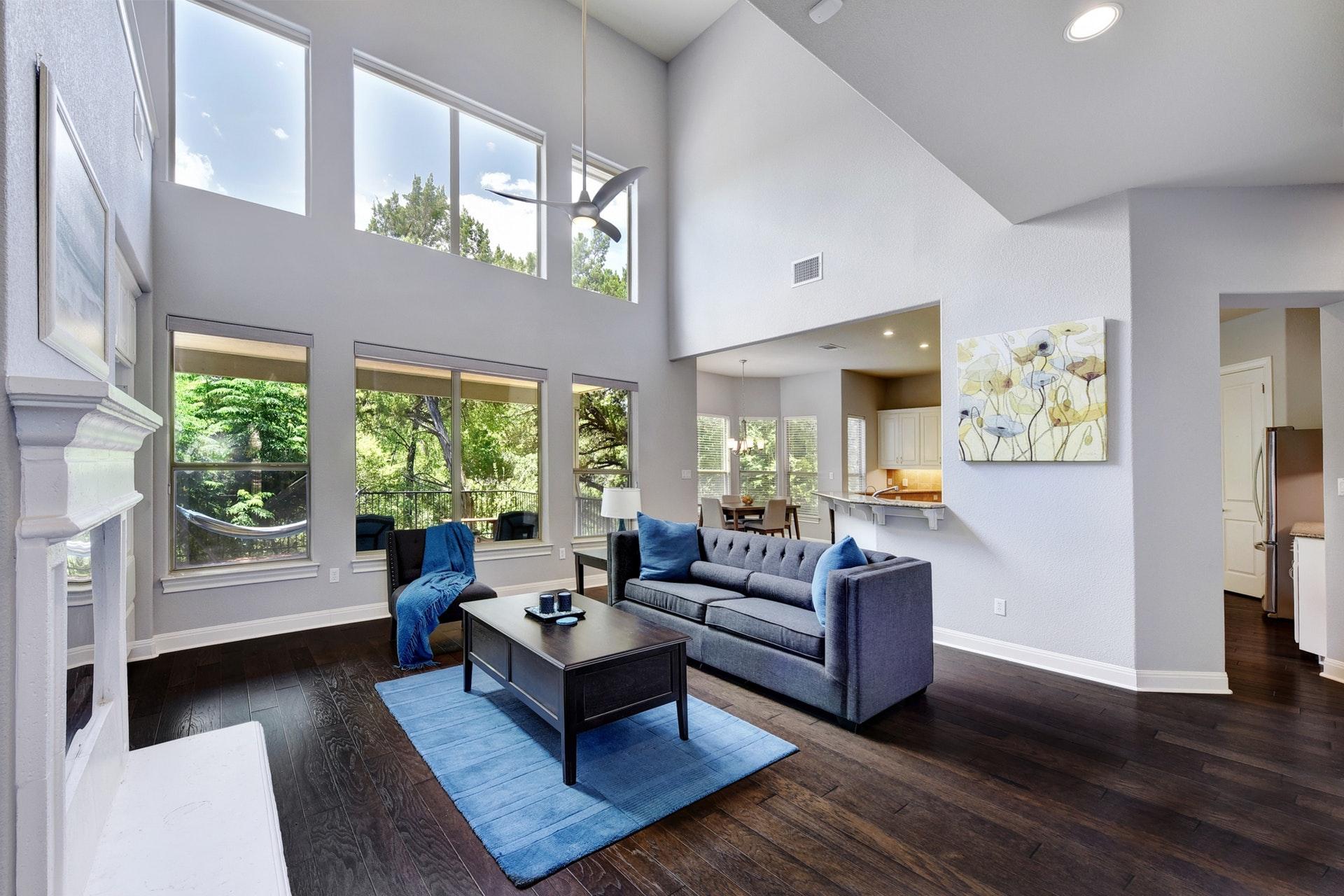 1014 Ogden Drive - Living Room