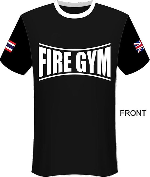 Fire Gym T Shirt - Fightlab