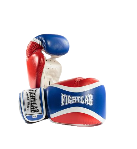 "MUAY THAI MMA K1 FIGHTLAB ""FLOW THAI FLAG"" DESIGN THAI BOXING GLOVES"