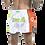 "Thumbnail: MUAY THAI MMA K1 FIGHTLAB ""IRISH PRIDE"" THAI BOXING SHORTS - WHITE/GREEN"