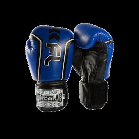 "MUAY THAI MMA K1 FIGHTLAB ""FORCE"" DESIGN THAI BOXING GLOVES - Blue"