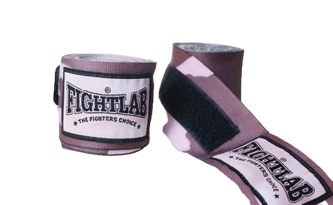 4.5 METER FIGHTLAB CAMEO HAND WRAPS - Grey