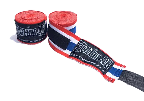 4.5 METER FIGHTLAB HAND WRAPS - THAI FLAG