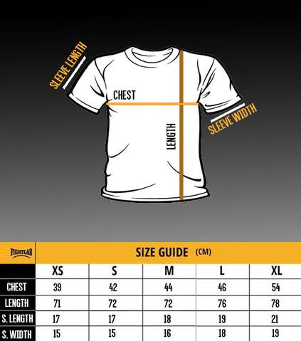 "Muay Thai MMA K1 Fightlab /""Vintage/"" Design T Shirt"