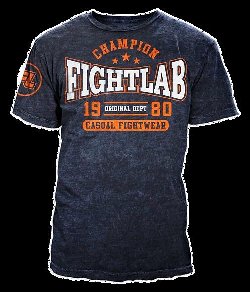"MUAY THAI MMA K1 FIGHTLAB ""CHAMPION"" DESIGN T SHIRT"