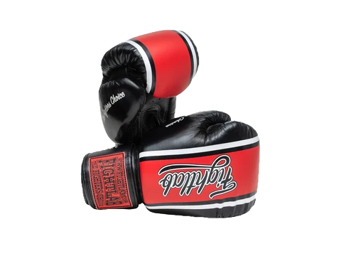 SIGNATURE SERIES MUAY THAI GLOVES BLACK/RED
