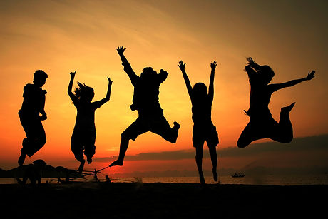 Silhouette jumping team.jpg