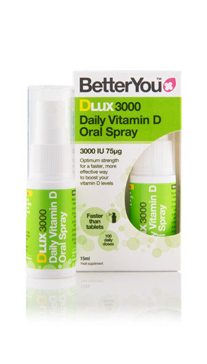 Better You DLux 3000 Daily Vitamin D Oral Spray