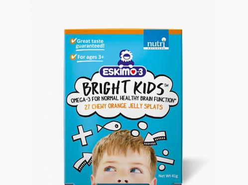 Nutri Advanced Eskimo-3 Bright Kids chewy orange jelly splats