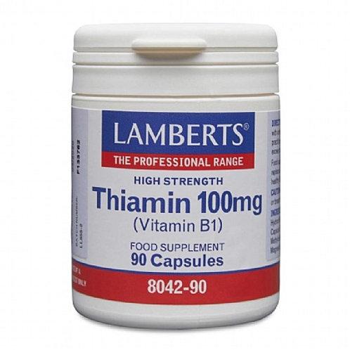 Lamberts Thiamin 100mg (Vitamin B1) 90 caps