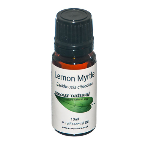 Amour Natural Lemon Myrtle Pure Essential Oil 10ml