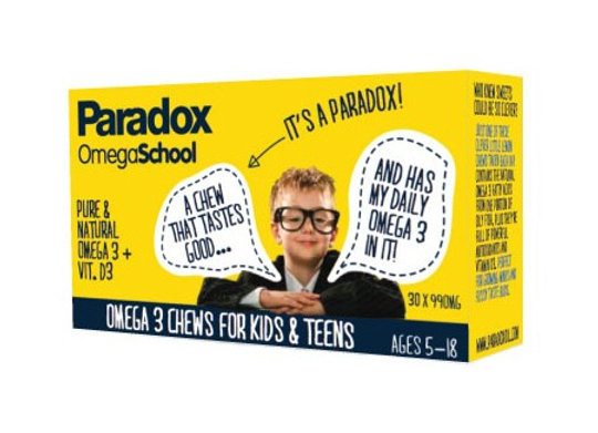 Paradox OmegaSchool fish oil for children