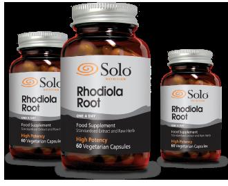 Solo Rhodiola Root