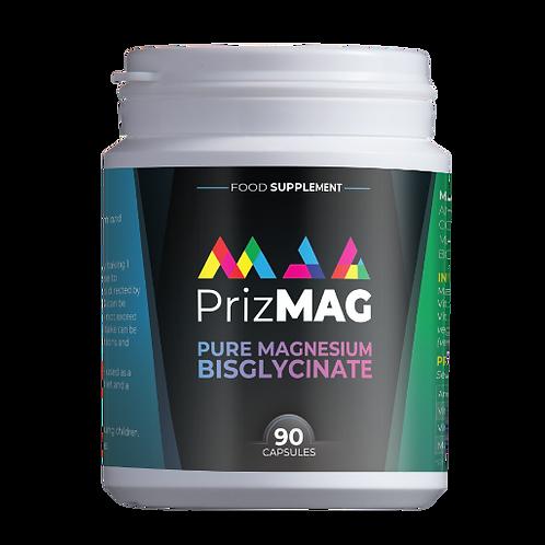 PrizMAG pure magnesium bisglycinate 90 caps