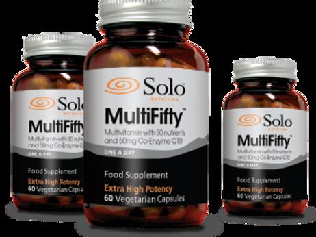 Solo MultiFifty Multivitamin (60 caps)