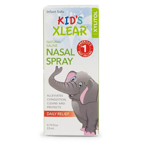 Kid's Xylitol and Saline Nasal Spray
