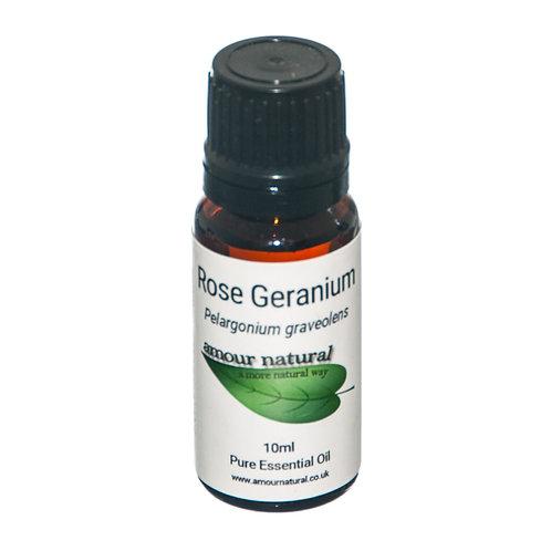 Amour Natural Rose Geranium Pure Essential Oil 10ml