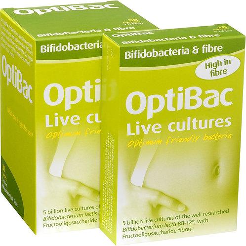 OptiBac Bifidobacteria & Fibre