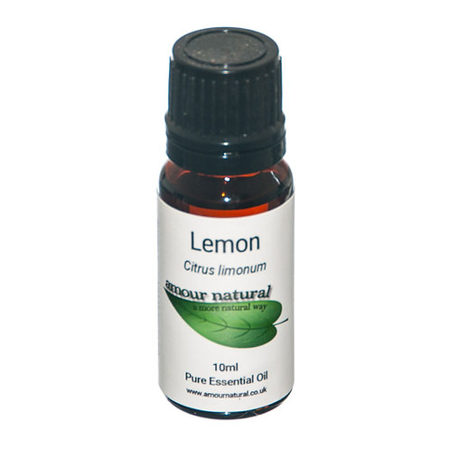 Amour Natural Lemon Pure Essential Oil 10ml