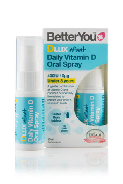 Better You DLux Infant Vitamin D oral spray