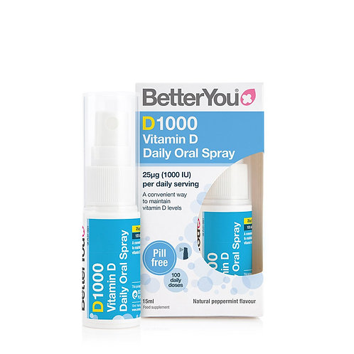 Better You DLux 1000 Daily Vitamin D Oral Spray