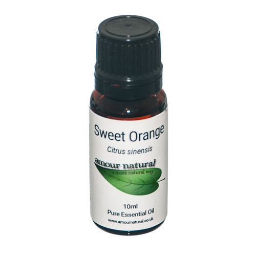 Amour Natural Sweet Orange Pure Essential Oil 10ml