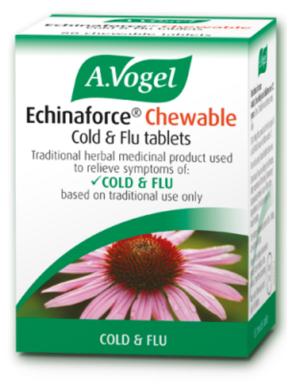 Echinaforce® Chewable Cold & Flu tablets