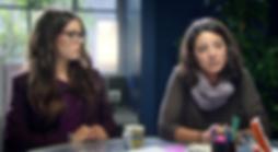 Maite Guilera en una escena de La Riera, TV3 con Vicky Luengo