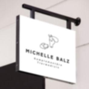 Logo Michelle Balz Komplementäre Tiermed